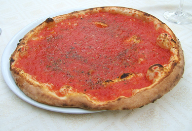 (어부 피자, pizza marinara)